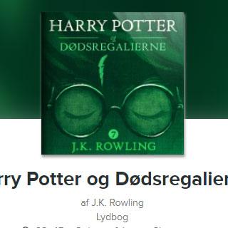 Harry Potter og Dødsregalierne lydbog