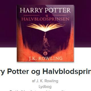 Harry Potter og Halvblodsprinsen lydbog