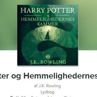 Harry Potter og hemmelighedens kammer lydbog
